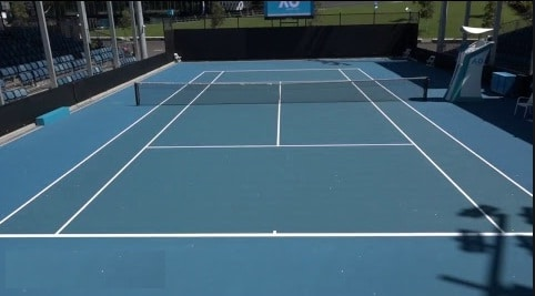 hard court tennis, hard court tennis surface, hard tennis courts, hard court